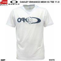 オークリー メッシュ Tシャツ ホワイト OAKLEY ENHANCE MESH SS TEE 11.0 WHITE