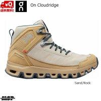 オン クラウドリッジ トレッキングシューズ ハイキングブーツ サンド/ロック On Cloudridge Sand | Rock HIKING TREKKING