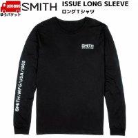 ご予約商品 スミス ロングTシャツ ブラック SMITH ISSUE LONG SLEEVE BLACK