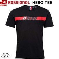 ご予約商品 ロシニョール ヒーローTシャツ ブラック ROSSIGNOL HERO TEE BLACK