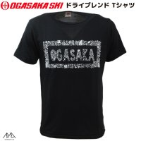 オガサカ 限定モデル ドライブレンド Tシャツ 4.4オンス by Yui Snohara ブラック OGASAKA TEAM